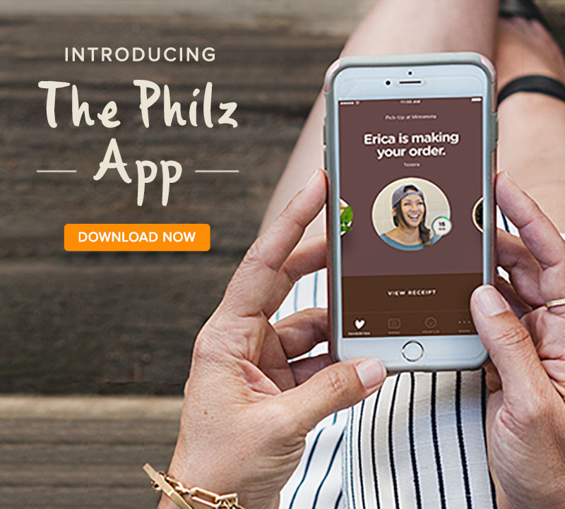Introducing - The Philz App.