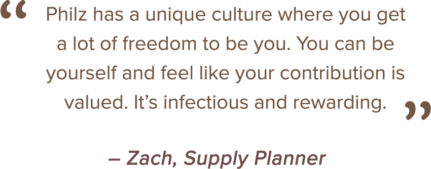 Philz has a unique culture where you get a lot of freedom to be you.